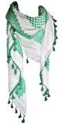 Green & White Keffia